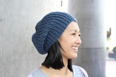 This pattern is super easy, super quick and super warm! It's written for an 8ply yarn worked double, but you could easily substitute a 14ply. Pattern Details Skill Level Beginner Yarn Type 8ply or 14ply Yarn Quantity 250m (8ply) 0r 175m (14ply) Needles 6mm & 8mm Ravelry Link Hipster Hat Free Download Hipster Hat