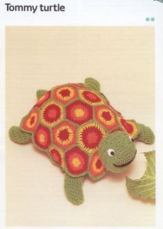 Cavendish Tommy Turtle Toy Crochet PATTERN  - 30 Days To Shop & Pay!