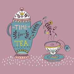 Time for tea by Lisa Barlow (Martin)