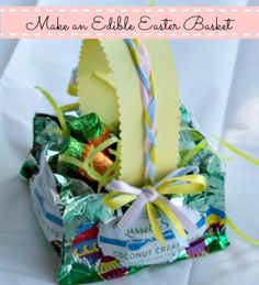 Make an Edible Easter Basket in 6 Easy Steps {Tutorial}