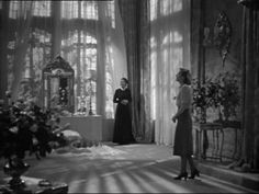 """Rebecca """"Hitchcock's first American film classic!"""" Directed By: Alfred Hitchcock Starring Joan Fontaine, Laurence Olivier & Geo. Alfred Hitchcock Quotes, Hitchcock Film, Janet Leigh Psycho, Dramas, Daphne Du Maurier, Stock Image, Old Movies, Indie Movies, Romantic Movies"""