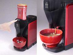 マルコメが家庭用みそ汁マシン、1杯から約1分間で作りたての味。   Narinari.com