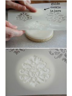 Using Stencils on Cakes, Cookies, & Cupcakes