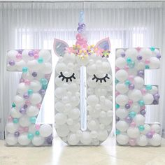 Creative is an understatement in this amazing balloon setup!!! Template by: @thecreativeheartstudio @designplanplay #unicorn #unicornparty #balloons #creative #party #balloonart #birthdaygirl #birthdayparty #birthdayparty #firstbirthday #1stbirthday #name #partyplanner #kid #kids #kidsparty