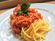 Špagety tofu bolognese — Bratilicious
