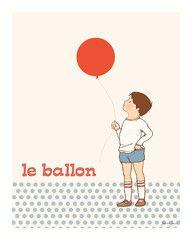 Sarah Jane print Le Balloon