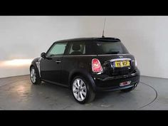 MINI COOPER 1.6 D CHILI PACK - Air Conditioning - Alloy Wheels - Bluetooth - Free Road Tax - Half Leather Interior - Stop-Start Engine | In black with 36000 ...