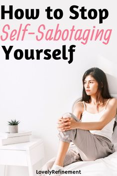 How To Overcome Self-Sabotage Behavior Learn how you can stop the self-sabotage and start loving yourself more. In order to be happy in life, it starts with you. Let go of the self-sabotage and feel more confident in your life. Anxiety Relief, Stress Relief, Self Development, Personal Development, Leadership Development, Confidence Tips, Understanding Anxiety, Foto Baby, Anxiety Tips