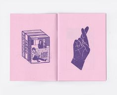 Debbie Downer 20 page A6 risograph printed art by samweirforever