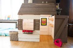 Darling Little Pallet Playhouse / Cabane Pour Enfant En Bois De Palettes
