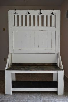 Small Wrought Iron Hallway Bench Which Paired With Decorative Square Wall Mirror Panel. Charming Entryway Bench And Coat Rack. entry bench and coat rack plans. Entry Storage Bench, Hallway Bench, Storage Bench Seating, Entry Bench, Ikea Storage, Bench With Storage, Banquette Seating, Shoe Storage, Coat Rack Bench