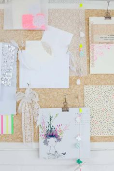 Color Me Pretty: Fluorescent Touches | decor8