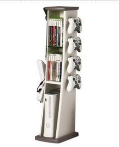 Xbox 360 Gaming Tower Organizes Your Gaming Obsession | Xbox Freedom This.