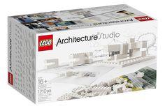 LEGO white & clear: 白と透明のみレゴブロックの新作発売 建築家目指す人向け | Fashionsnap.com | Fashionsnap.com