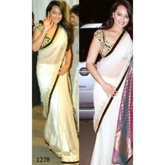 Sonakshi Sinha Bollywood Replica Saree
