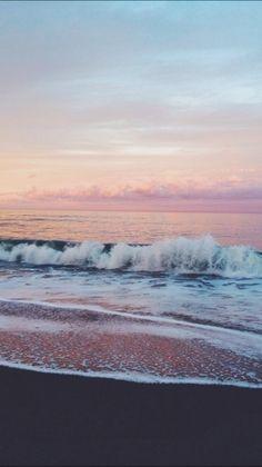 beach life / ocean / waves / water / earth / explore / world / wave / beach / sand / lake / beautiful / travel / adventure / oceanic / inspiration / blue / sky / swim / pretty / sea / tide / shore / seashore / oceanfront / bank / seaside Summer Vibes, Summer Sunset, Sunset Beach, Ocean Beach, Pink Sunset, Sunset Colors, Summer Nights, Laguna Beach, No Wave