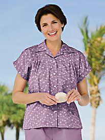 Eyelet Resort Shirt