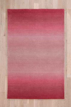 Tufted Fade Out Indoor/Outdoor Rug wool pink 3x5 259.00 5x8 489.00 8x10 869.00