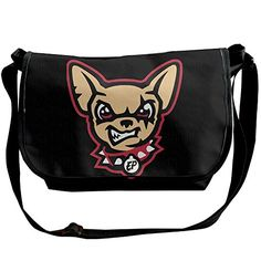 Amurder Personalized El Paso Chihuahuas Logo Messenger Shoulder Bag Black ** Want to know more, click on the affiliate link Amazon.com.