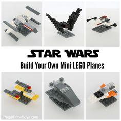 LEGO Mini Star Wars Ships - Frugal Fun For Boys and Girls