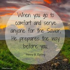 President Henry B. Eyring | 16 quotes about service and love from LDS General Women's Session | Deseret News