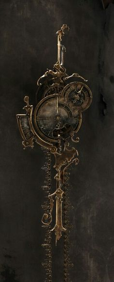 Steampunk door knocker