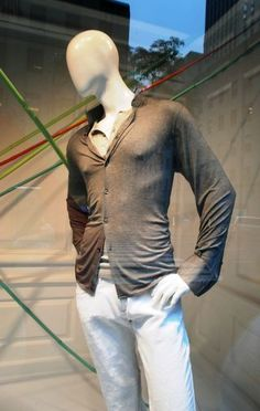 abstract mannequins - male
