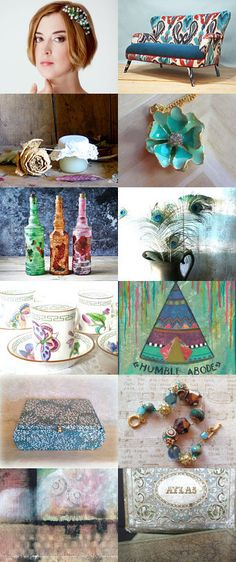 Humble Abode by Nancy S. on Etsy--Pinned+with+TreasuryPin.com