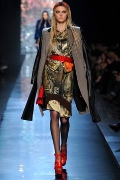 Jean Paul Gaultier Fall 2012 Ready-to-Wear Fashion Show - Sigrid Agren (Elite)