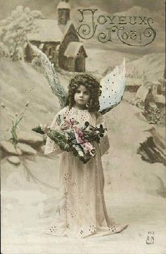 Vintage Postcard ~ Angel by chicks57, via Flickr