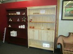 Great Country Style Cabinets. . Can be painted and built to your home.. Give us a call for a quote. .423-588-5972