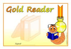 Editable book reading certificates
