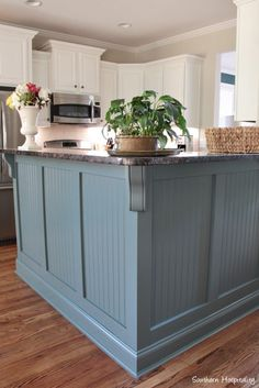 Our Painted Kitchen Cabinets - Southern Hospitality