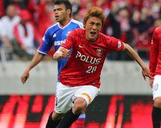 [ J1:第10節 浦和 vs 横浜FM ] スコアレスで前半を折り返した浦和は56分、左からのCKを李忠成が頭で合わせ先制。李は4試合ぶりのゴールで今季3ゴール目となった。