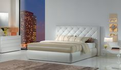 PREMIUM BT is a plus storage bed with a soft quilted headboard...for your soft dreams