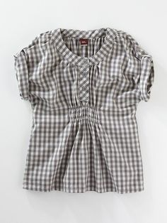 Girls Painters Plaid Tunic by Tea Collection on Gilt.com