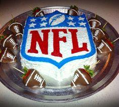 Nfl Football Birthday Cake » Cake Design Ideas