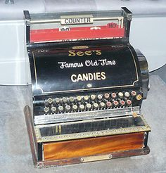 See's Candy Register