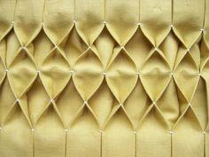 Honeycomb smocking #sewing
