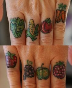 i'm not a huge fan of tattoos, but these really interest me for some reason. The entire picture shows life.