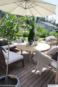 My Garden - Sisustuskuva jäseneltä idahhh - StyleRoom. Outdoor Spaces, Outdoor Living, Outdoor Decor, Ikea Applaro, Home Goods, Outdoor Furniture Sets, Pergola, Sweet Home, New Homes