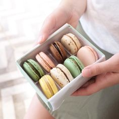 Couldn't come to New Orleans and leave without @sucreneworleans macarons.