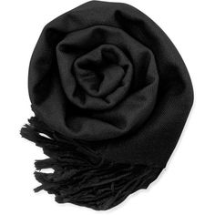 Gearonic Fashion Lady Women Long Pashmina Silk Scarf Wraps Shawl Stole ($11) ❤ liked on Polyvore featuring accessories, scarves, black, oblong scarves, shawl scarves, silk scarves, wrap shawl and pure silk scarves