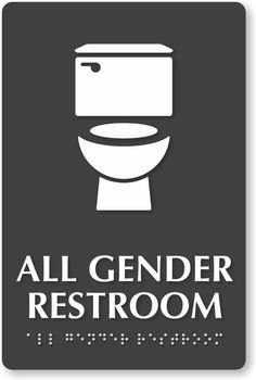 Bathroom Signs Transgender transgender bathroom sign | travel tips | pinterest | bathroom
