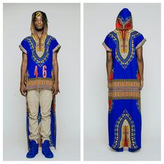 Short in Front and Long in Back Dashiki « Terrence Davidson – Wigmaster