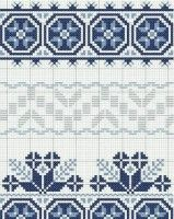 Beading _ Pattern - Motif / Earrings / Band ___ Square Sttich or Bead Loomwork ___ Beading Patterns, Embroidery Patterns, Cross Stitch Patterns, Knitting Patterns, Cross Stitches, Types Of Stitches, Hama Beads, Lana, Tatting