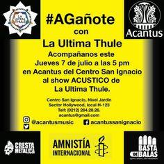 """A Gañote"" show acústico con La Ultima Thule en Acantus http://crestametalica.com/events/a-ganote-show-acustico-con-la-ultima-thule-en-acantus/ vía @crestametalica"