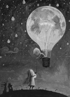 #Moon #Art