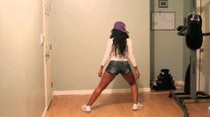 How to TWERK TUTORIAL and LEG/BOOTY WORKOUT by Keaira LaShae