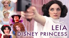 Princess Leia's Disney Welcoming Ceremony by Girl Pants Productions
